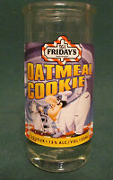 T.G.I. FRIDAY'S   OATMEAL COOKIE    TALL SHOT GLASS