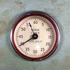 "Vintage Darkroom Kodak Timer Fridge Magnet 2 1/4""  60 Seconds Darkroom Equipment"