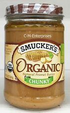 Smucker's Organic Chunky Natural Peanut Butter 16 oz Smuckers