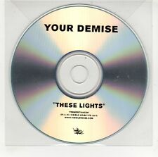 (GI596) Your Demise, These Lights - 2012 DJ CD