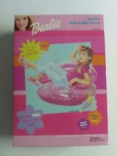 Vintage Mattel Barbie Junior Inflatable Chair New In Box Capelli 2000s