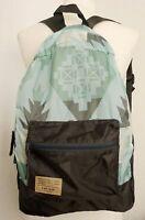 Kids GAP Boy GREEN GREY Lightweight Packable Rucksack Backpack Shoulder Zip Bag