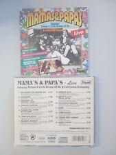 MAMAS & PAPAS - LIVE -  CD