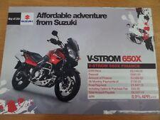 Suzuki V-STROM 650X Motorcycle Sales Brochure 2007
