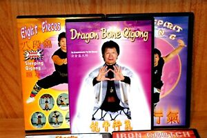 Tu Jin-Sheng's Iron Crotch and Qigong Series (4 DVDs)