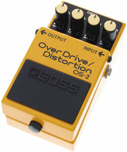 BOSS OS-2 Over Drive / Distortion BRAND NEW Guitar Effect Pedal