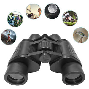 8x40 High Power Porro Prism 8 x 40 Binoculars & Case Caps Bag Strap Birdwatching
