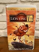 The Lion King 1½ (2004) VHS #31203