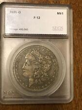 1895-O Morgan Silver Dollar $1 Coin - Certified  - Rare Date!
