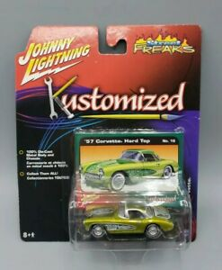 Johnny Lightning Kustomized Street Freaks 1957 Chevy Corvette Hard Top Number 18