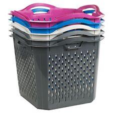 Stapel-Lage Waschen Kleidung Wäschekorb Aufbewahrung Badezimmer Leinen Mülleimer