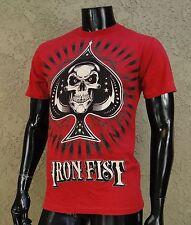 Iron Fist Company Dealer Red Mens T shirt Size Medium