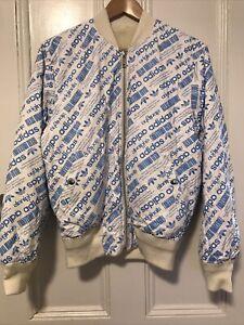 Adidas X Alexander Wang Cream Bomber Jacket S