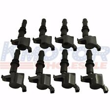 New Set of 8 Ignition Coil on Plug Pack for Lincoln Ford Mercury DG511 C1541