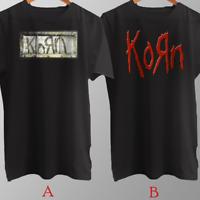 Korn American Metal Band 2 New T-Shirt Cotton