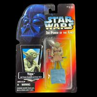 Star Wars Power of the Force 2 Red Card Yoda Kenner Action Figure 1995 NEW