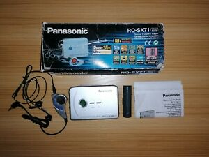 WALKMAN PANASONIC RQ-SX71 NUEVO! NO FUNCIONA VINTAGE,RETRO.Cassette.LEER ANUNCIO