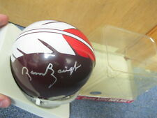 SAMMY BAUGH Autographed FOOTBALL Mini Riddel Helmet