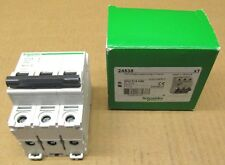 1 NIB SCHNEIDER ELECTRIC 24538 C60 MINIATURE SUPPLEMENTARY PROTECTOR 3P 10A