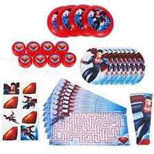 Man of Steel Superman Comic Superhero Birthday Party 48 pc. Favor Pack Toys