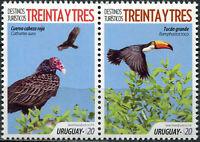 Uruguay 2018. Türkei Geier (Cathartes aura) (Postfrisch) Zusammendruck