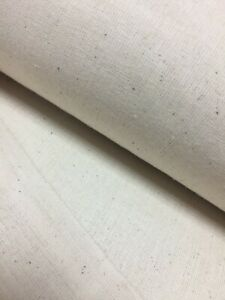 CALICO Fabric Natural 62'/160cm Width 100% Cotton Price per Meter BEST QUALITY !