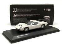 KYOSHO 1:64 Scale Lamborghini Miura LP400 White Diecast Car Model New in Box