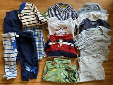 Infant Mixed Clothing Lot Baby Boy Size 9 Months Mostly Carter's