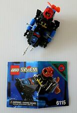 LEGO 6115 Shark Scout - Aquasharks - Set Complete with Instructions from 1995