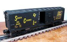 Lionel No.6-9403 Seaboard Coast Line Box Car - NICE!