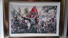 La Batalla de Gettysburg 1863 impresión enmarcado