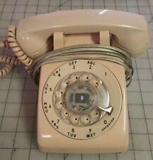 1980 Stromberg Carlson Salmon Rotary Dial Desk Telephone  S-C500DQM 12-80