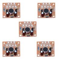 5Pcs Sound Control Module LED Melody Light Funny DIY Electronic Experiment Kit