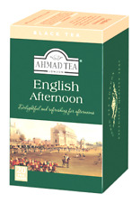 English Afternoon Black Foiled Tea Bags 20 CT 1 case ( 6 x 20 =120 CT ) NEW