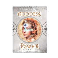 Goddess Power Oracle Deck Guidebook Family Party Board Game Tarot Cards 52PCS