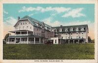 Postcard Hotel Raymond Eagles Mere PA