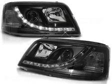 LED HEADLIGHTS LPVW38 VW TRANSPORTER T5 2003 2004 2005 2006 2007 2008 2009 BLACK