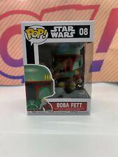 Funko Pop! Star Wars Boba Fett #08 MINT W/Protector!
