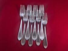 """Denmark Stainless Dinner//Salad Fork 6-3//4/"""" Georg Jensen PLATA Satin 4-Tine F1"""