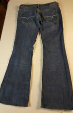 DIESEL LOWKY B.C. STRETCH FLARE JEANS, SIZE 27 X 30 WOMEN'S ITALY
