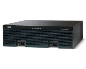 Used/ CISCO3945E/K9 Integrated Services Routers, 1GB DRAM, 4 GE