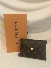 NEW LOUIS VUITTON KIRIGAMI MEDIUM Monogram RED Snap Pouch Pouchette + RECEIPT