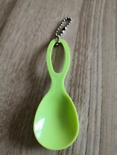 Schlüsselanhänger Tupperware Babylöffel spoon lindgrün