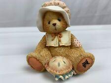 "Cherished Teddies ""Nicole"" November Bear Figurine #914851 Pie Enesco 1993"