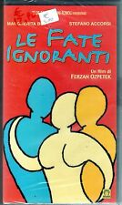 Le fate ignoranti (2001) VHS Medusa - Margherita Buy Stefano Accorsi Ozpetek NEW