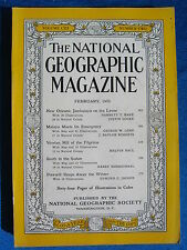National Geographic Magazine February 1953 Vintage Ads Car Truck Advertising