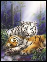 Together - Chart Counted Cross Stitch Pattern Needlework DIY DMC Color