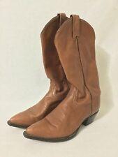 Tony Lama Light Brown Cowboy Boots Size 6.5 m