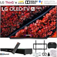 """LG OLED55C9 55"""" C9 4K HDR Smart OLED TV w/ AI ThinQ (2019) + 31"""" Soundbar Bundle"""