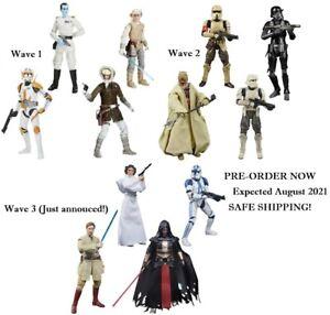 Star Wars The Black Series Archive ALL Darth Revan Kenobi Leia Clones -PRE AUG-